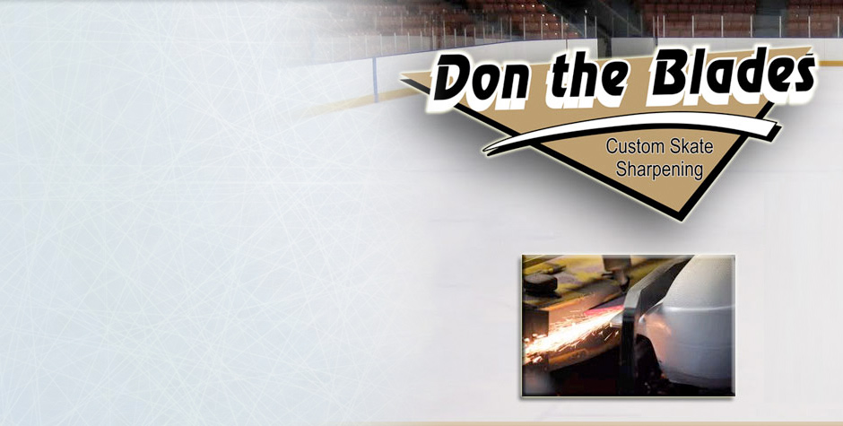 Don the Blades Skate Sharpening